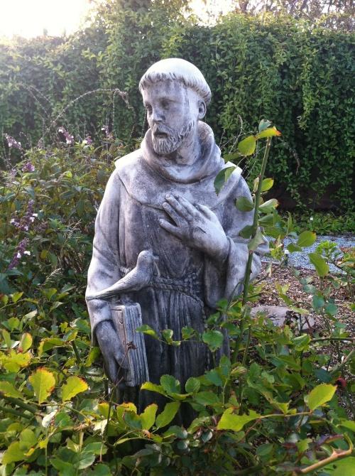 アシジの聖フランシスコ像
